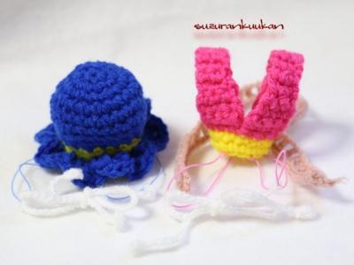 彦星帽子と織姫冠 ビビットカラー