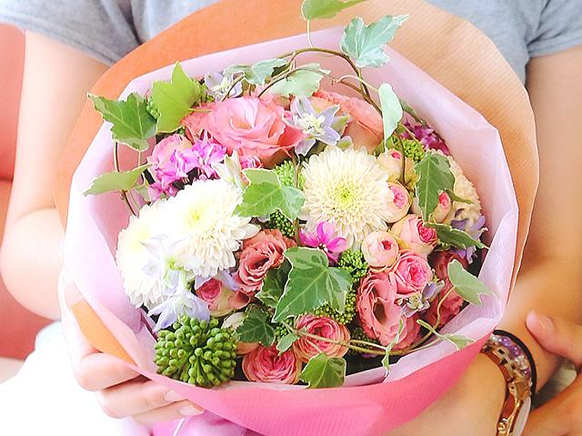 結婚式 ブーケ かわいい 花束 花嫁 サプライズ プロポーズ バラ