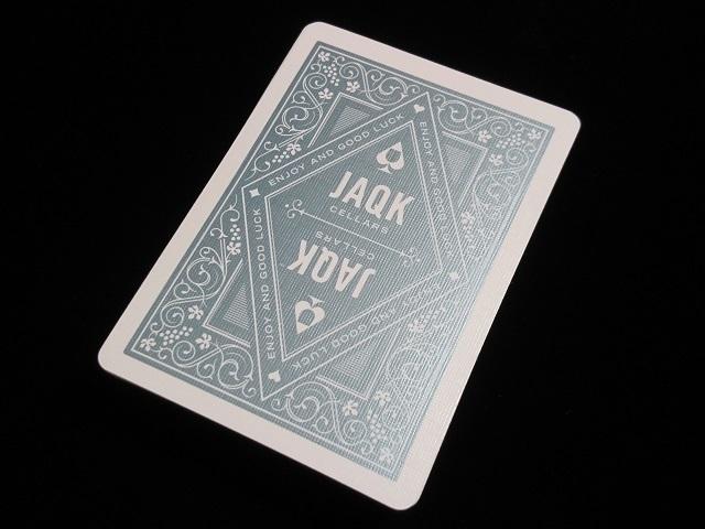 JAQK Cellars Signature Playing Cards