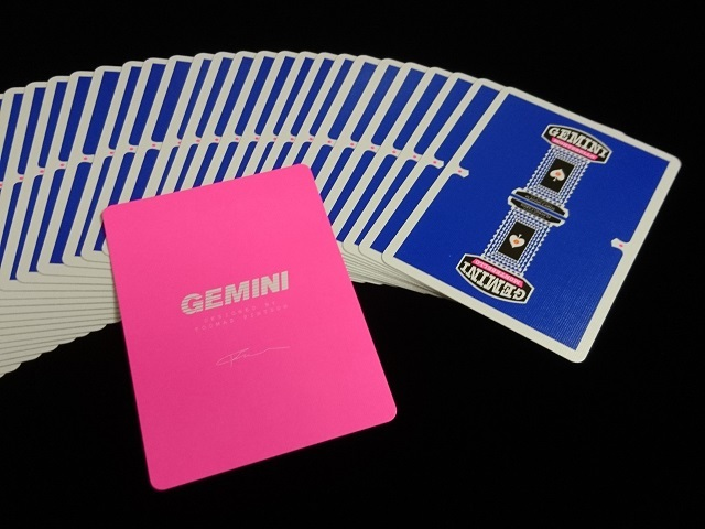 GEMINI CASINO Playing Cards Royal Blue (4)