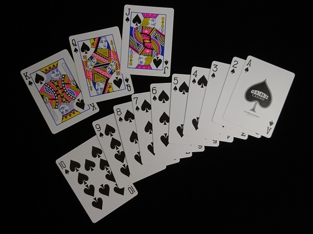 GEMINI CASINO Playing Cards Royal Blue (6)