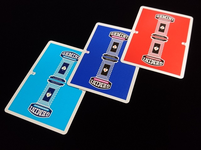GEMINI CASINO Playing Cards Royal Blue (8)