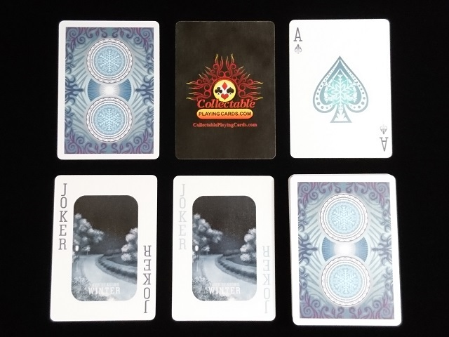 Four Seasons Limited Edition (Winter) Playing Cards (BICYCLE) (5)