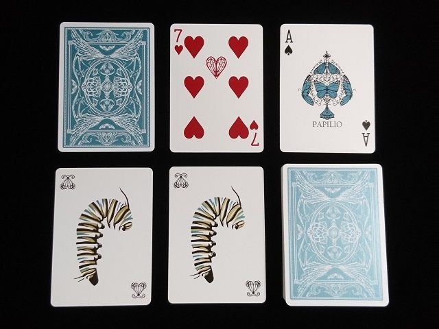 Papilio Ulysses Playing Cards (5)