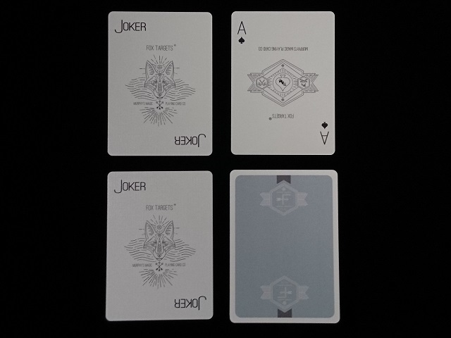 Fox Targets Playing Cards (5)