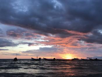 タオ島、夕日、サンセット