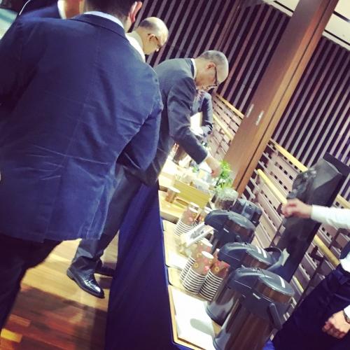 筑波大学 tsukuba 東京 国際会議 コーヒーブレイク