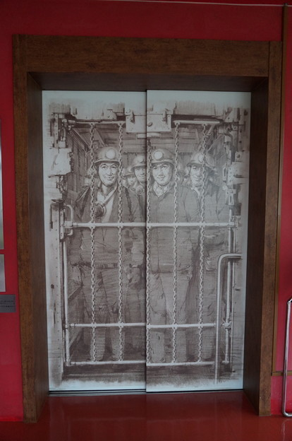 不思議デザインのエレベーター