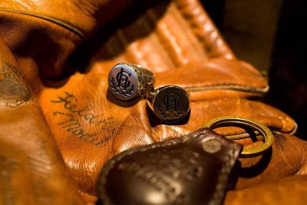 GLAD HAND GH LEATHER-KEY FOB