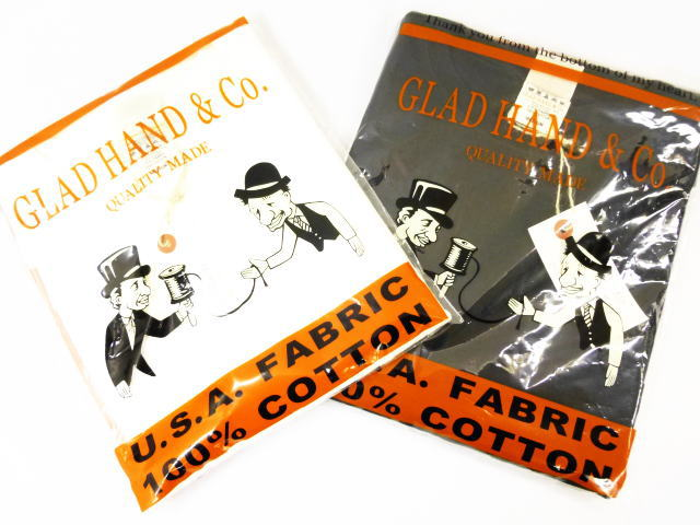 GLAD HAND STANDARD POKET T-SHIRTS VINTAGE FINISH