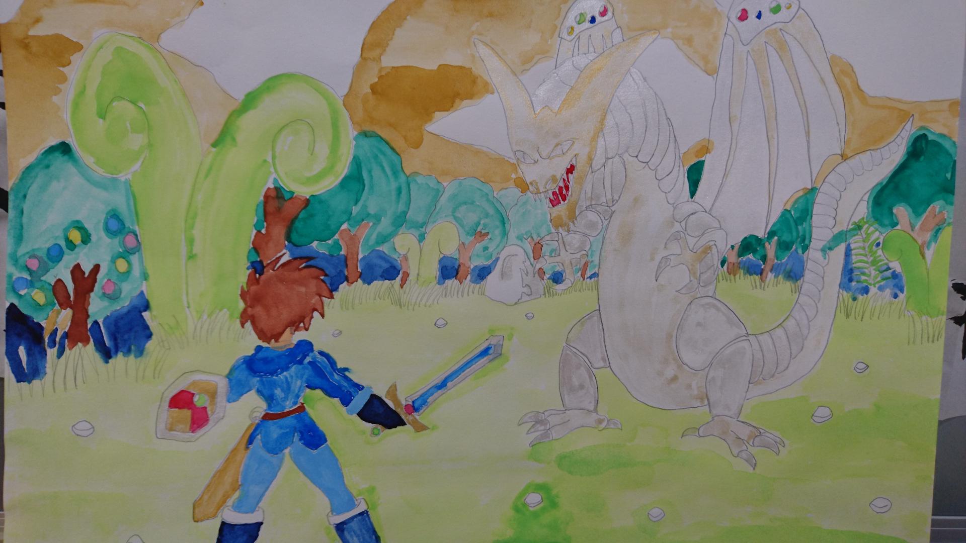 白竜との決戦