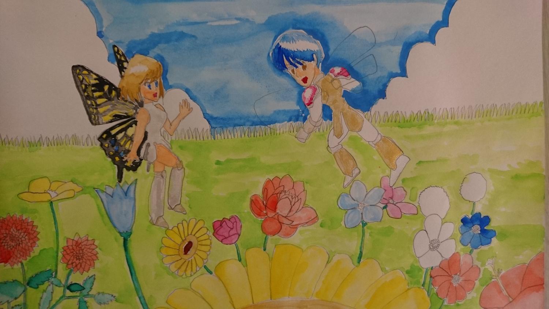 花畑の邂逅