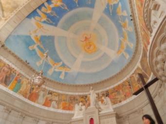 聖ルチア教会天井画1024x768
