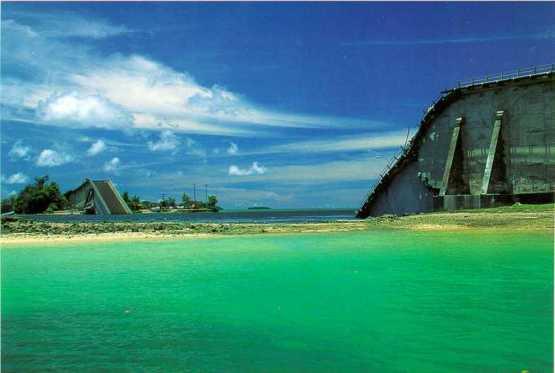 韓国企業の「KBブリッジ崩落」→日本企業の「Japan-Palau friendship bridge」(日本-パラオ親善の橋)