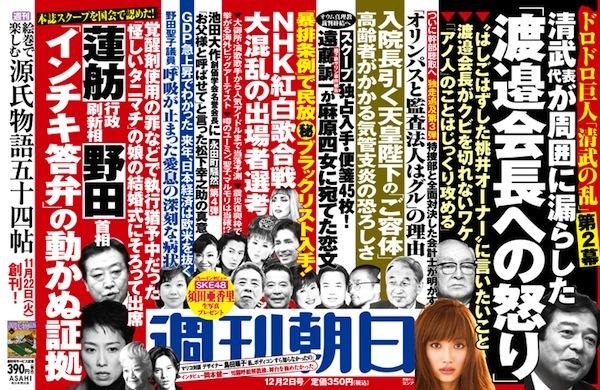 2011年11月20日 ... 本誌完全独走スクープ:<本誌のスクープをついに国会で認めた>
