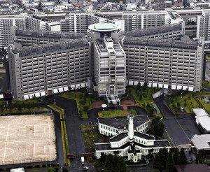 松本死刑囚らの死刑が執行された東京・小菅の東京拘置