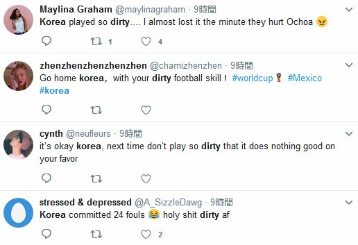 【W杯】ツイッターで「Korea dirty」で検索すると大量にヒット!! 世界で韓国へのヘイトが蔓延