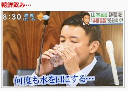 非常に高い確率で元朝鮮人(韓国人)だと考えれていた山本太郎も、平成25年11月5日に「朝鮮飲み議員」の仲間入りをした!