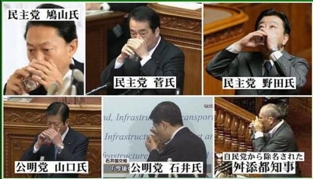 国土交通大臣・公明党の石井啓一も、朝鮮飲み