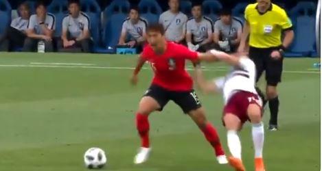2連敗でグループステージ敗退が決定したサッカーワールドカップの韓国代表、ファール数やイエローカード数では現在トップ!