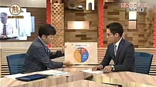 再放送では、フリップのクローズアップのカットで、正しい円グラフにさしかえられていた。(伊藤雄彦アナの指がでてこない。とりだす場面では誤ったグラフのまま)