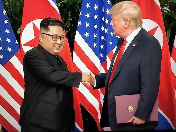首脳会談!歴史的大失態!文書に「拉致」なし!「完全かつ検証可能で不可逆的な核廃棄」なし!