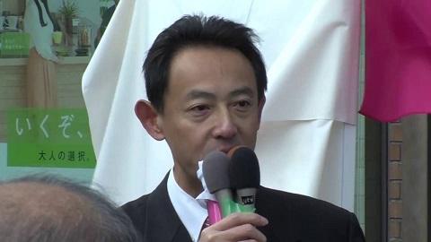 【報道】濱田剛史高槻市長「辻元清美」衆議院議員候補者応援演説