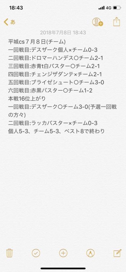 平城CS(チーム)ベスト8 戦績 ロージアダンテ わらび餅さん