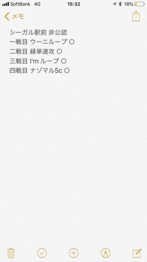 Neoshigmaさん 戦績