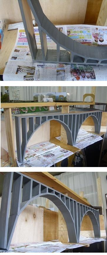 アーチ橋塗装6AB