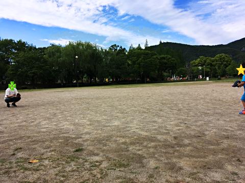 長良公園_キャッチボール2018_01