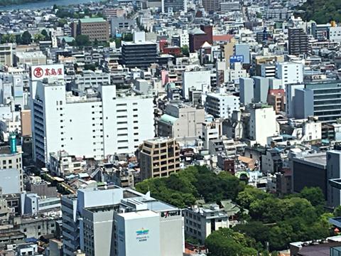 ぎふシティタワー43_43階展望室からの眺望2018_04