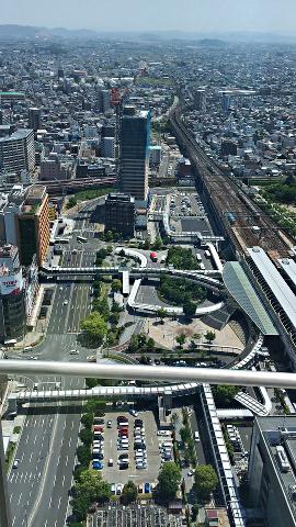 ぎふシティタワー43_43階展望室からの眺望2018_06