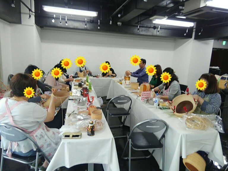 ナンタケットバスケット東京教室ドゥブリアン