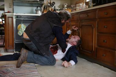 『ビューティフル・デイ』 ジョーは母親を殺した男を痛め付けるのだが……。