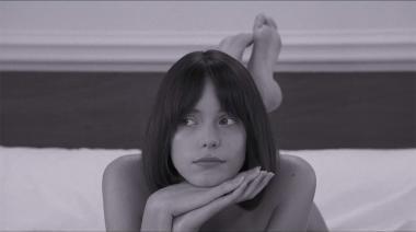 『グッバイ・ゴダール』 『勝手にしやがれ』っぽい? ステイシー・マーティンがとてもかわいらしくアンヌを演じる。