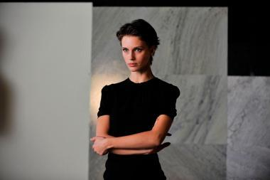 『2重螺旋の恋人』 マリーヌ・ヴァクトはショート・カットになって一見すると美少年のようにも見える。