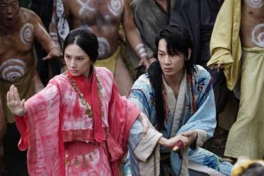 『パンク侍、斬られて候』 カラフルな衣装も映える北川景子が演じるろんの正体は?