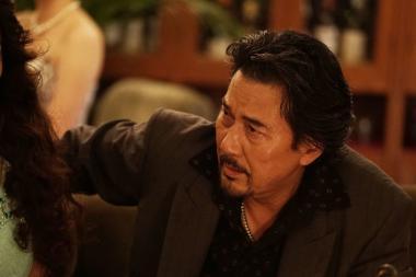 『孤狼の血』 役所広司演じる大上の風貌には凄みがあった。