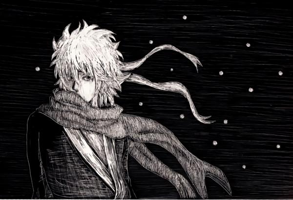 スクラッチボード 白夜叉 銀魂