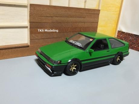 AE86レビン緑2 (1)