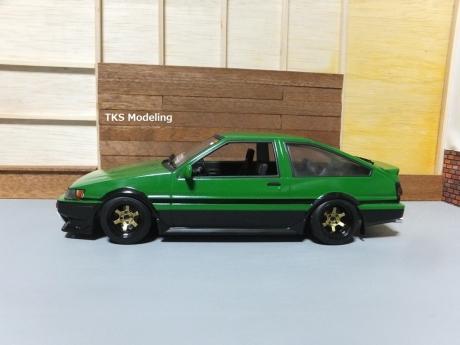 AE86レビン緑2 (2)