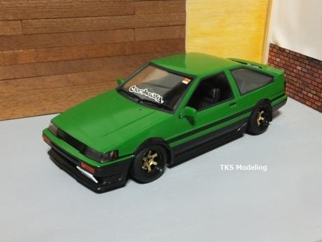 AE86レビン緑2 (7)