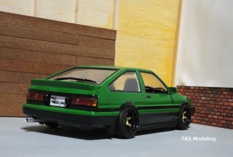 AE86レビン緑2 (12)