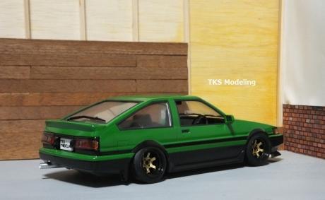 AE86レビン緑2 (13)