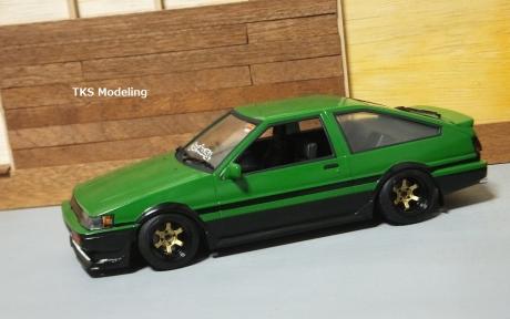 AE86レビン緑2 (9)