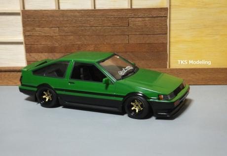 AE86レビン緑2 (16)