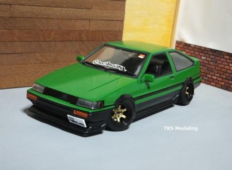 AE86レビン緑2 (18)