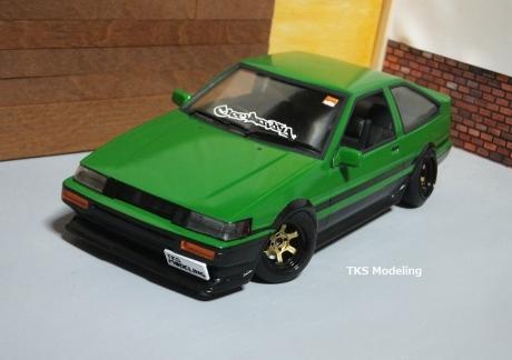 AE86レビン緑2 (21)