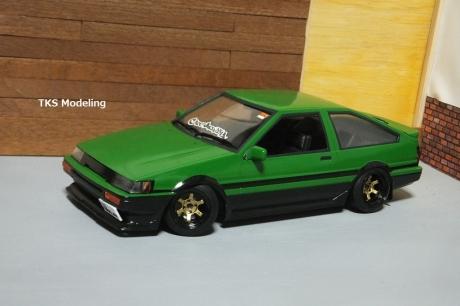 AE86レビン緑2 (22)